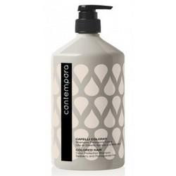 Barex Contempora Shampoo Protezione Colore - Шампунь для сохранения цвета с маслом облепихи и граната, 1000 мл