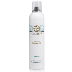 Barex Olioseta Oro del Marocco Illuminating Hairspray - Лак блеск с маслом арганы и пантенолом 300 мл