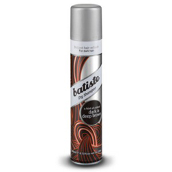 Batiste Dry Shampoo Hint of Color Dark & Deep Brown - Сухой шампунь, 200 мл