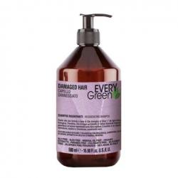 Dikson Every Green Damaged Hair Shampoo Rigenerante - Шампунь для поврежденных волос, 500 мл