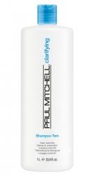Paul Mitchell Clarifying Shampoo Two - Шампунь для интенсивного очищения, 1000мл