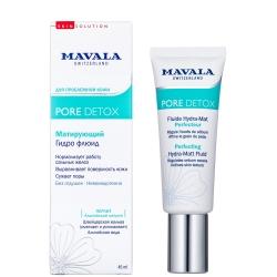 Mavala Detox Perfecting Hydra-Matt Fluid - Матирующий Гидро Флюид , 45 мл
