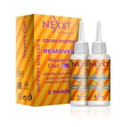 Nexxt Professional Color System Remover Nuance Out - Эмульсия-лосьон Корректор цвета для удаления краски с волос, 2*125 мл