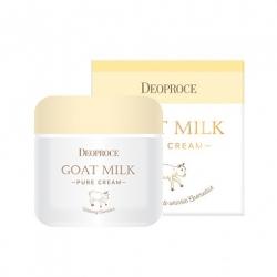Deoproce Goat Milk Pure Cream - Антивозрастной крем с экстрактом козьего молока, 50 мл