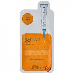 Mediheal Platinum V-Life Essential Mask - Маска для лица с эффектом V-лифтинга, 25 мл