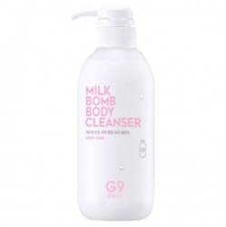 Berrisom G9SKIN Milk Bomb Body Cleanser - Очищающее молочко для тела 500 мл