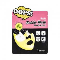 Berrisom Soda Bubble Mask_PoreTox Fruit - Маска для очищения и сужения пор, 18 мл