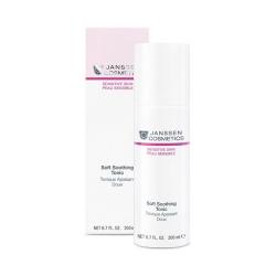 Janssen Sensitive Skin Soft Soothing Tonic - Нежный успокаивающий очищающий тоник, 200мл
