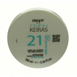 Dikson Keiras Cera All' Acqua Azzurra No Fix 21 - Аква-воск на основе ароматизированной воды (морской), 150 мл
