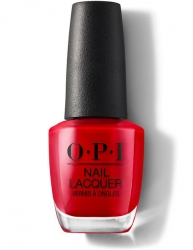 OPI - Лак для ногтей Big Apple Red, 15 мл