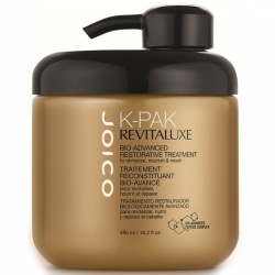 Joico K-PAK Revitaluxe Bio-Advanced Restorativ Treatment - Био-маска реконструирующая с кератиново-пептидным комплексом 480 мл