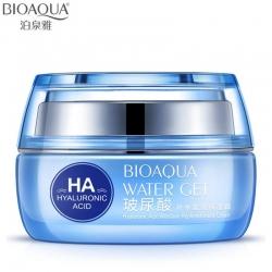 Bioaqua WATER GET HYALURONIC ACID - Увлажняющий крем с гиалуроновой кислотой, 50мл