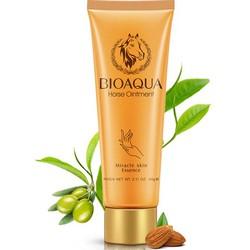 Bioaqua Horseoil - Крем увлажняющий для рук лошадиным маслом, 60 г