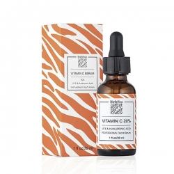 Biofollica Vitamin Serum - Сыворотка для лица с витамином C и гиалуроновой кислотой, 30 мл