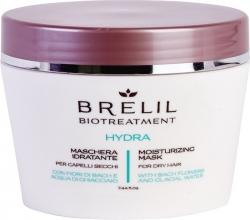 Brelil Bio Treatment Hydra Moisturizing Mask - Увлажняющая маска, 200мл