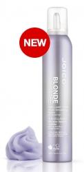 Joico Blond Life Brilliant Tone Violet Smoothing Foam - Крем-пена тонирующая с разглаживающим эффектом, 200мл