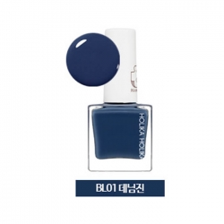 Holika Holika Piece Matching Nails - Lacquer - Лак для ногтей тон BL01, джинсовая ткань, 10 мл