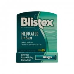 Blistex Medicated Lip Balm Лечебный бальзам для губ SPF 15, 4.25г