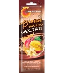 Tan Master Brown Mango Nectar - Крем для ускорения проявления загара с ароматом манго, 15мл