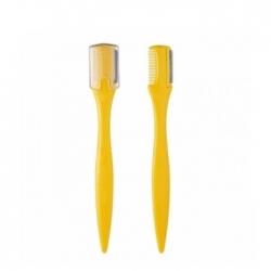 The Saem Eyebrow Trimmer 2P - Щетка-корректор бровей желтая, 2 шт