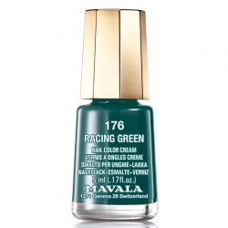 Mavala - Лак для ногтей тон 176 Британский зеленый Racing green, 5 мл