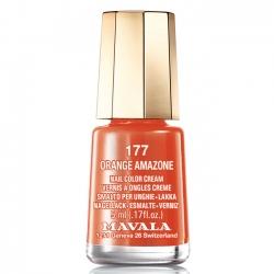 Mavala - Лак для ногтей тон 177 Оранжевый Orange amazone, 5 мл