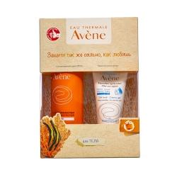 Avene Солнцезащитный спрей SPF 50+, 200 мл +  Крем-гель восстанавливающий п/солнца, 50 мл в ПОДАРОК