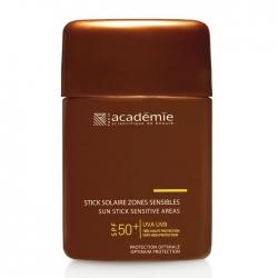 Academie Bronzecran Stick Solaire Zones Sensibles SPF 50+ - Защитный карандаш для чувствительных зон, 10 мл