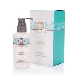 Barex Olioseta Oro del Marocco styling cream for hair - Моделирующее Молочко с маслом арганы и маслом семян льна, 250мл