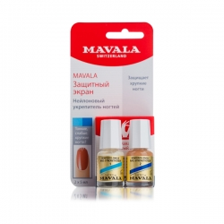 Mavala Nail Shield - Укрепляющая основа для слабых и тонких ногтей 2 x 5 мл