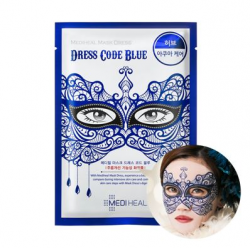 Mediheal Mask Dress Code Blue - Маска тканевая для лица успокаивающая, 27 мл