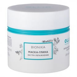 Ollin Bionika Extra Moisturizing Clay-Mask - Маска-глина для волос Экстра увлажнение  200мл