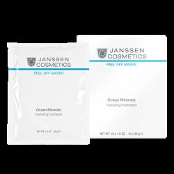 """Janssen Peeling and Peel Off Masks Ocean Minerals Hydrating -Голубая """"морская"""" моделирующая маска - Альгинатная anti-age ультраувлажняющая маска с морскими минералами, 30г"""