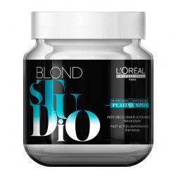L'oreal professionnel blond studio: обесцвечивающая паста лореаль платиниум плюс, 500 гр
