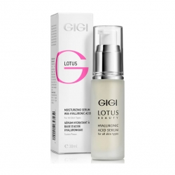 GIGI Cosmetic Labs Lotus Beauty Moisturizin Serum - Сыворотка увлажняющая с гиалуроновой кислотой 30 мл