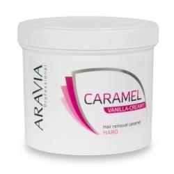 """Aravia Professional - Карамель для депиляции """"Ванильно-сливочная"""" плотной консистенции, 750 г"""