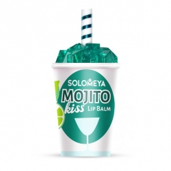 Solomeya Lip Balm Mojito Kiss - Бальзам для губ Mojito Kiss, 7 гр