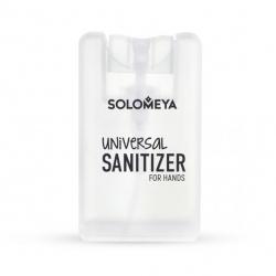 Solomeya Universal Sanitizer Spray for Hands Tea Tree - Антибактериальный спрей для рук с ароматом чайного дерева 20мл