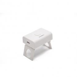 Solomeya - Профессиональная LED лампа (компактная) для полимеризации гель-лаков (3Вт) Белая