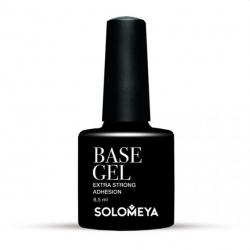 Solomeya Base Gel Extra Strong Adhesion SBG - Базовое гелевое покрытие для ногтей, 8мл