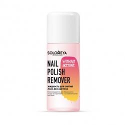Solomeya Nail Polish Remover without acetone - Жидкость для снятия лака без ацетона 105мл