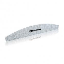 Solomeya Halfmoon zebra file - Пилка для ногтей Арка 100/180 грит