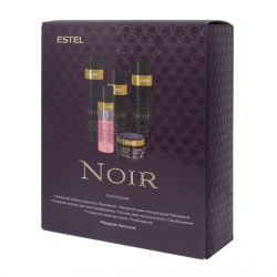 Estel Otium NOIR - Гармония Набор (шампунь+крем-маска +спрей +молочко +гель для душа)