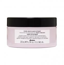 Davines Your Hair Assistant Prep Rich balm - Интенсивный кондиционер для подготовки волос к укладке для плотных, обезвоженных или чувствительных поврежденных волос, 200 мл