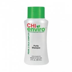 CHI Enviro Pearl & Silk Complex Purity Shampoo - Очищающий шампунь 59 мл