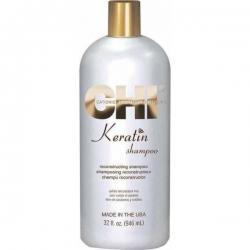 CHI Keratin Shampoo - Шампунь кератиновое восстановление, 946 мл