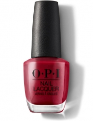 OPI - Лак для ногтей Chick Flick Cherry, 15 мл