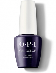 OPI Grease collection Gel Color - Гель-Лак для ногтей Chills Are Multiplying!, 15 мл