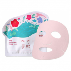 Ciracle From Jeju Camellia Flower Anti-Wrinkle Mask Pack - Маска для лица тканевая 21 мл