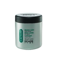 Echos Line 5 Action Mask - Маска 5-ти действий с экстрактами трав для сухих и ослабленных волос, 1000 мл